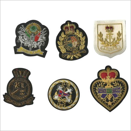 Hand Made Designer Embroidered Badges