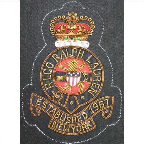 Hand Made Custom Embroidered Blazer Badge