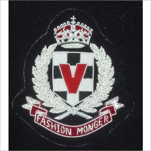 Designer Embroidered Blazer Badge