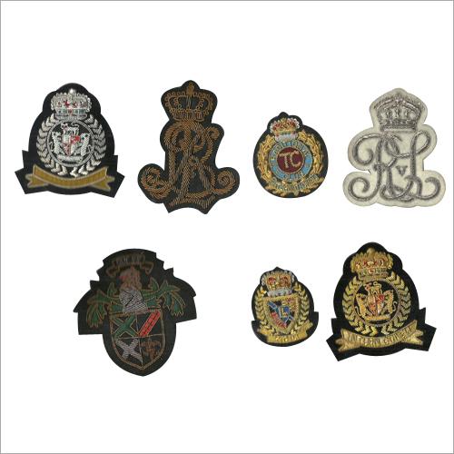 Embroidered Blazer Badge