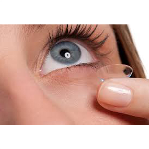 Transparent Contact Lens