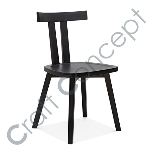 SOFT WOODEN DINING CHAIR