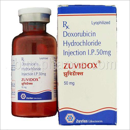 Inj. Doxorubicin HCL 10mg, 50mg Single Vial