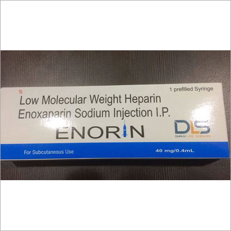 Low Molecular Weight Heparin Enoxaparin Sodium Inj