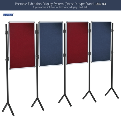 Portable Exhibition Stands Singapore : Portable exhibition display stand system dbs