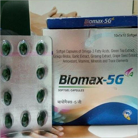 biomax 5g softgel capsules biomax 5g softgel capsules