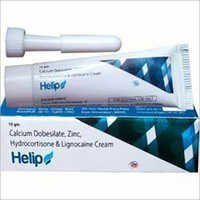 Calcium Dobisilate , Zinc Hydrocortisone & Lignocaine Cream