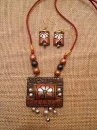 Handcrafted Terracotta Jewellery Set