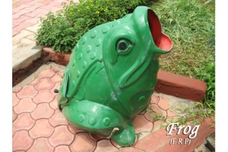 Frog Dustbin