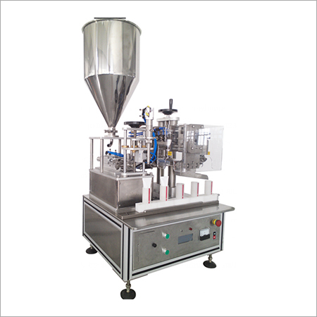 Semi Tube Filling and Sealing Machine