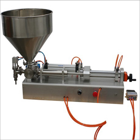 Small Manual Tube Filing Machine