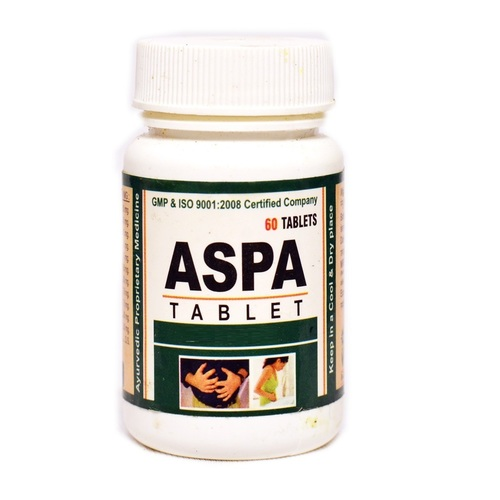 Ayurvedic Herbal Tablet For Colic Pain - Aspa Tablet