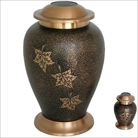 2018-L Faliing Leaves Cremation Urns