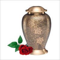 2031-L- Falling Leaves Cremation Urns
