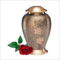 2031-L- Falling Leaves Cremation Urns