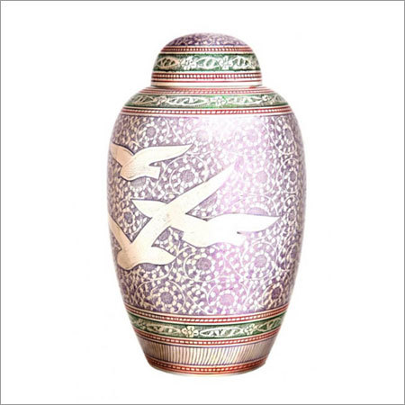 2516-L Going Home Purple Cremation Urns