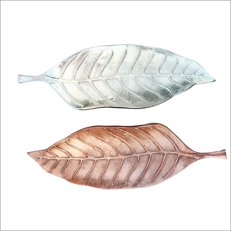 Copper Nickel Leaf Tray