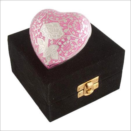 2927-H Rose Pink Engarved Keepsakes