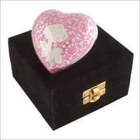 2927-H Rose Pink Engarved Keepsakes
