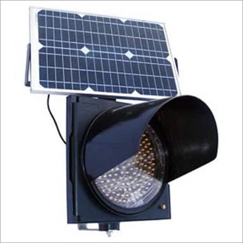 Solar Powered Traffic Signal Blinkers