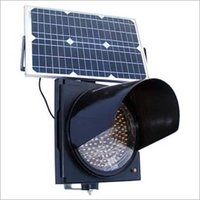Solar Powered Traffic Signal Blinkers