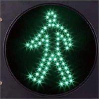 Pedestrian Green Traffic Signal Light