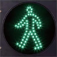 Pedestrian Walk Signal Light