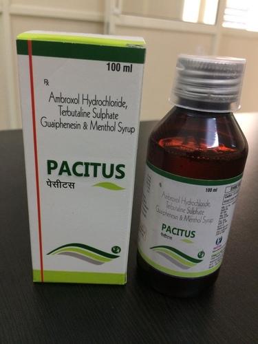 Terbutaline-1.25 mg + Ambroxol-15 mg + Guaiphensine-50 mg