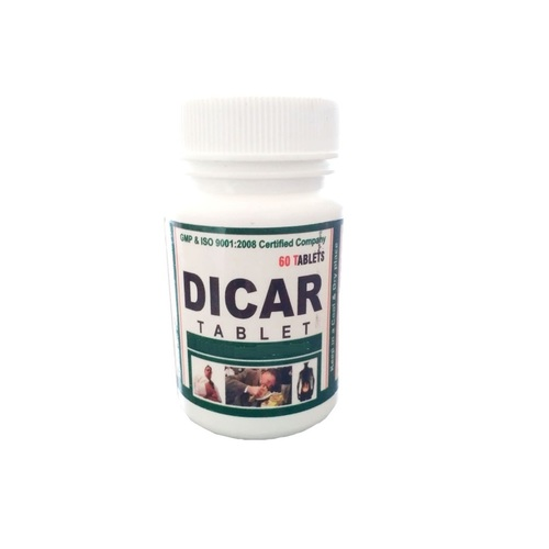 Ayurvedic Herbal Medicine For Digestive Tract - Dicar Tablet