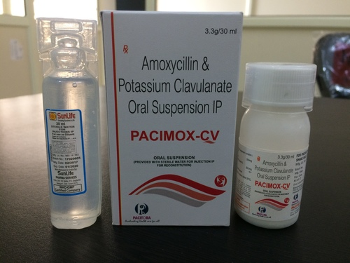 Amoxicillin-200 mg Clavulanic Acid-28.5 mg Suspension