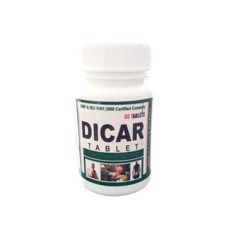 Ayurvedic Herbal Medicine For Improves Digesion - Dicar Tablet