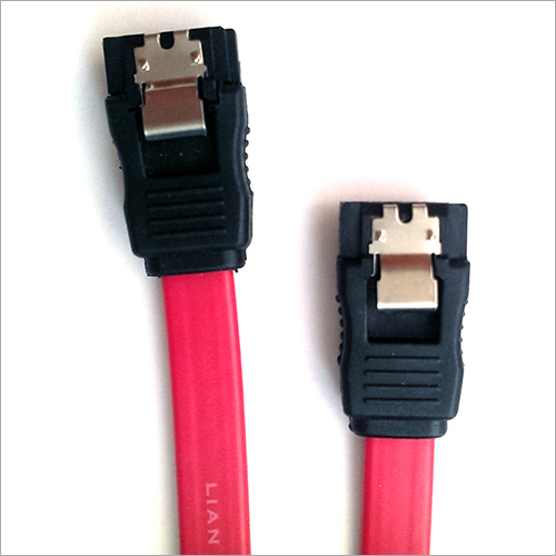 Sata III 7pin Cable With Metal Clip