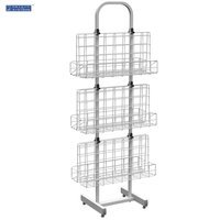 WB-24 Literature Rack & Magazine Display Stand
