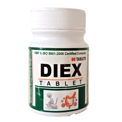 Ayurvedic Herbal Tablet For Dysentery-Diex Tablet