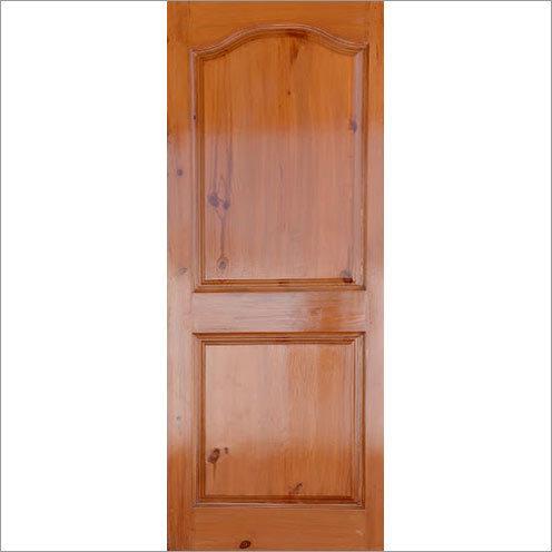 Pine Panel Wood Door