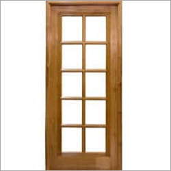 Teak Glass Designer Doors