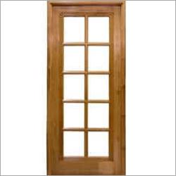 Teak Glass Designer Doors
