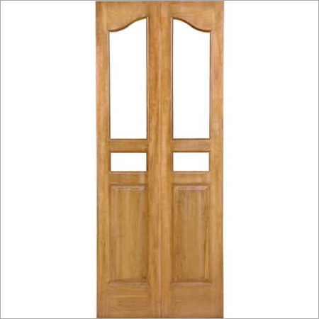 Teak Wiremess And Glass Doors