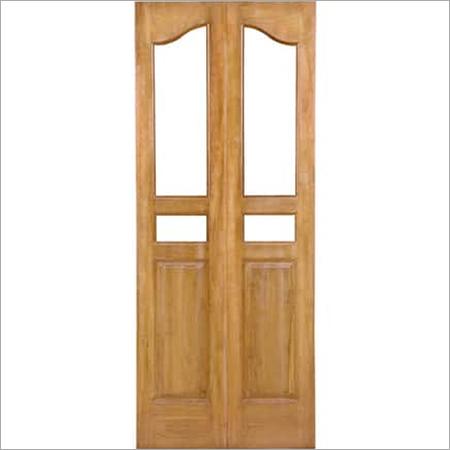 Teak Glass Doors