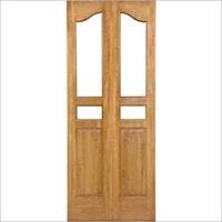 Teak Glass Doors