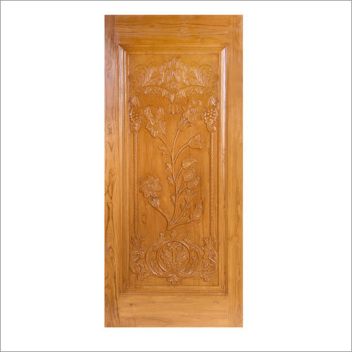Teak Carved Door