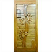 Stylish Teak Doors