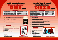 Ayurvedic tablet For healthy Intestinal flora - Diex-b Tablet