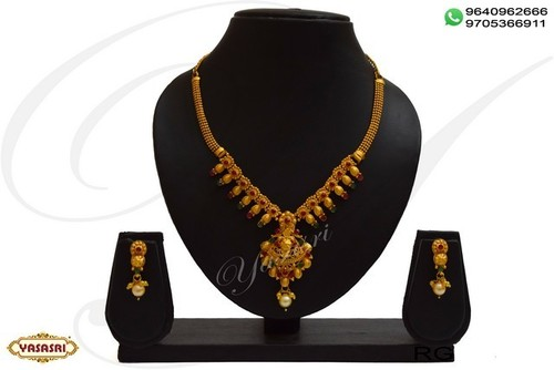 Ladies designer necklace