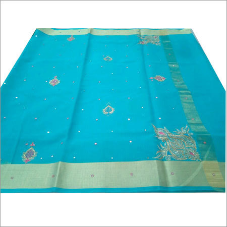 Printed Cotton Banarasi Sarees