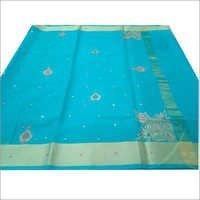 Printed Cotton Banarasi Sarees