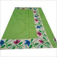 Green Printed Designer Sarees