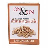 On & On Natures Luxury Sandalwood Soap
