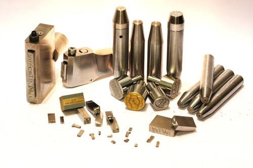 Metal Stereos For Hot Foil Stamping