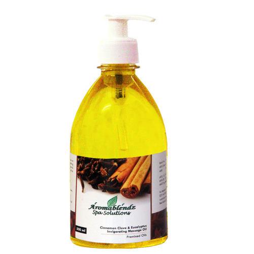 Aromablendz Cinnamon Clove And Eucalyptus Range Massage Oil